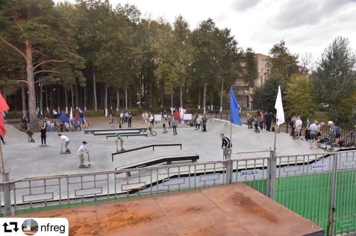 Скейт-парк для любителей экстрима открылся в Наро-Фоминске!
