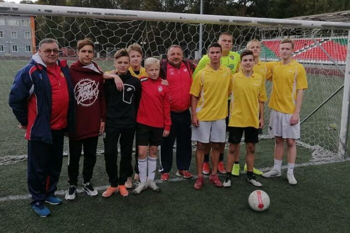 Фестиваль юношеского спорта по мини-футболу