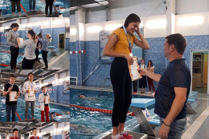Соревнования  по  плаванию «Золотая осень»