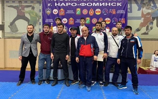 Результаты первенства России по вольной борьбе среди юношей до 16 лет