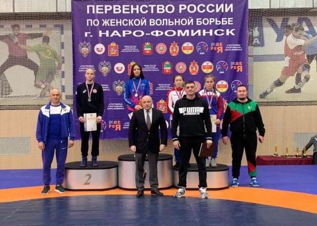 Определились победители первенства России среди юниорок до 21 года в Наро-Фоминске