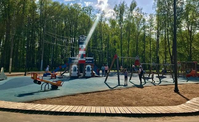 Благоустроенная детская площадка «Маяк»