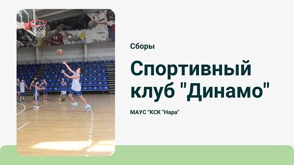 Cборы Баскетбольного клуба «Динамо»